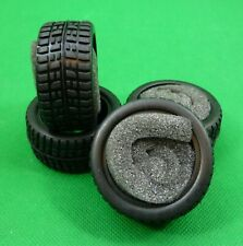 M Chassis Radial Tires -4 of with Inserts for Tamiya HPI Colt MINI Car 1:10 RC