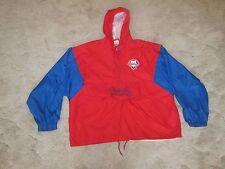 MLB Competitor Philadelphia Phillies Windbreaker Pullover Jacket Size XL Hooded