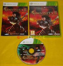 DIVINITY II THE DRAGON KNIGHT SAGA 2 XBOX 360 Vers Italiana 1ª Ediz »»» COMPLETO