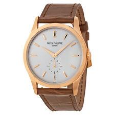 Patek Philippe Calatrava Opaline Dial 18K Rose Gold Mens Watch 5196R-001
