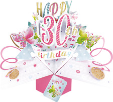 21st Cumpleaños Pop Up Tarjeta adecuado para Hembra Grand hija amigo Hermana