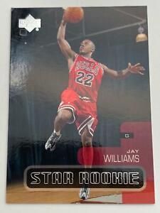 Basketball Card💎2001-02💎Upper Deck-Star Rookie-Chicago Bulls-Jay Williams🌟181