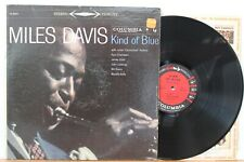 "Miles Davis LP ""Kind Of Blue"" Columbia 8163 ~ 6-Eye Stereo ~ VG+ ~ Errors"