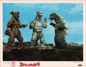 Godzilla vs Mecha Godzilla Japanese Movie Lobby Card TOHO 1974 Japan #3 Rare