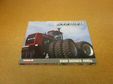 1995 Case IH Steiger 9380 9370 9350 4wd tractor catalog sales brochure 38 page