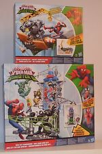 Marvel Ultimate Spider-Man Sinister 6 Web City Showdown & Rhino Rampage Set