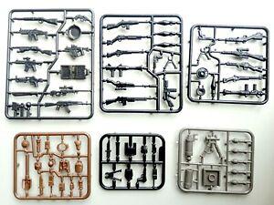 Mega Bloks Construx weapons guns lot