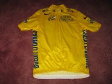 TOUR DE FRANCE 2003 NIKE YELLOW LEADERS CYCLING JERSEY [M]