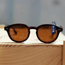 Vintage brown polarized sunglasses Mens 1960's tortoise acetate glasses UV400