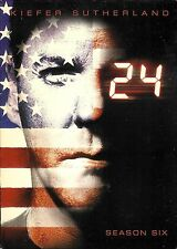 24 - Season Six ~ Kiefer Sutherland ~ 7-Disc DVD WS Box Set ~ FREE Shipping USA