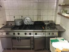 cucina ristorante completa, vetrine, arredi, banchi frigo
