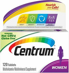 Centrum Multivitamin for Women, Multivitamin/Multimineral Supplement with...
