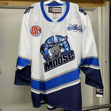 MANITOBA MOOSE AHL 2019-20 20TH SEASON AUTHENTIC SPECIALTY GAME JERSEY SIZE 52