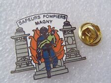 PIN'S SAPEURS POMPIERS MAGNY