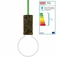 NUD COLLECTION pendule Lampe Cork Soil en ligne Lime