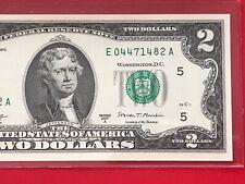 WOW 2017 A $2 TWO DOLLAR BILL ( RICHMOND E )   Uncirculated
