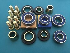 KFX COMPLETE Hub Rebuild Kit Wheel Bearings, Seals, Collars, Rebuilds 2 Hubs!!