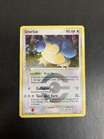 Snorlax - Pokemon Card - FireRed LeafGreen 15/112 - Ultra Rare Holo SWIRL - NM