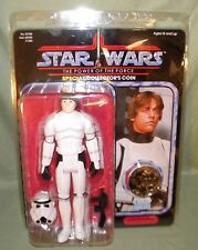 LUKE SKYWALKER STORMTROOPER OUTFIT Jumbo Star Wars Gentle Giant Vintage Card 12""