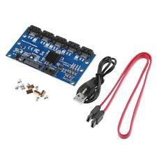 SATA Expansion Card 1 to 5 Port SATA3.0 Motherboard 6Gbps Multiplier Riser Card