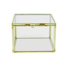 Glass Cuboid Terrarium Flower Succulent Plant Planter Pot Box Home Decor #8