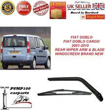 FIAT DOBLO /  DOBLO CARGO 2001-2010 REAR WIPER ARM & BLADE WINDSCREEN BRAND NEW