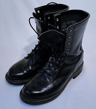 Original Chippewa Black Service Round Toe Boots in 5 1/2 M - EXCELLENT!