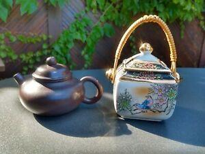 Teekanne Deckeldose China Zisha Ton Yixing