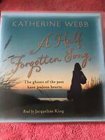 AUDIO CD's  -  KATHERINE WEBB - A HALF FORGOTTEN  SONG  -  UNABRIDGED 13 CD's