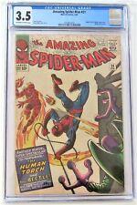 Spider-Man - no. 21 - 1965 - CGC 3.5 - comic
