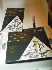 MONTBLANC Luciano Pavarotti Füllhalter, 888 Massivgold Edition