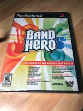 Band Hero - PS2 - Game Only - BRAND NEW SEALED - FREE SHIP