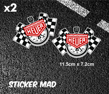 CHRONOGRAPH HEUER StopWatch Stickers HIGH QUALITY 115mm LE MAN  LOTUS Tag Heuer