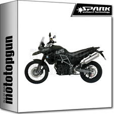 SPARK ESCAPE RACING OVAL INOX BMW F 800 GS 2012 12 2013 13 2014 14 2015 15