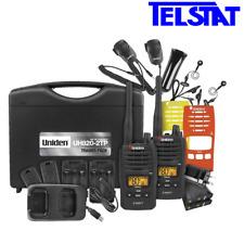 UNIDEN UH820S-2TP Tradie Pack 2W UHF CB Walkie Talkie Handheld Radio 80 CHANNEL