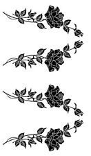 Armour Rub N Etch Glass Etching Stencil Sheet Stemmed Rose