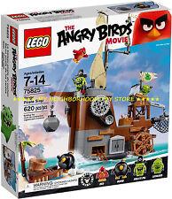 RET. P. C. - LEGO 75825 ANGRY BIRDS NAVE DEI PIRATI DEI MAIALI PIGGY PIRATE SHIP