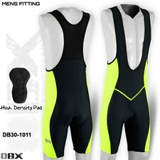 Mens Cycling Tights Bib Shorts Hi-Density Padded MTB Bike Legging Green S,M,L,XL