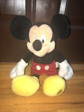 "Disney Store Mickey Mouse 16"" Plush Stuffed Animal Jumbo Stamp"