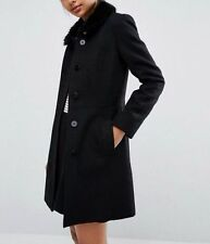 Faux Fur Dry-clean Only Military Coats & Jackets for Women