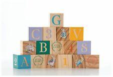Rainbow Designs PETER RABBIT WOODEN PICTURE BLOCKS Baby Toys Activities BN