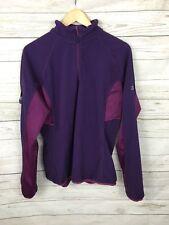 Donna Berghaus Zip Neck Fleece Jacket-UK18-ottime condizioni