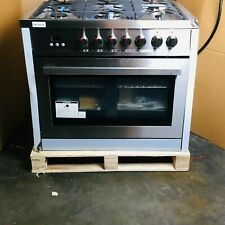 36 in. 3.8 cu. ft. Single Oven Dual Fuel Range with Convection Oven (Open Box -
