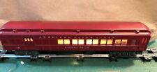American Flyer Train Heavyweight 953 Niagara Falls Tuscan Lighted Passenger Car