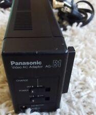 AG-B1 Vintage Panasonic Videocámara VHS usado cargador de red sin probar ver FOTOS LEER