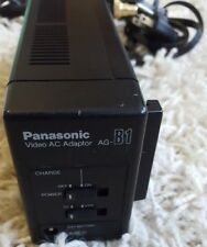 AG-B1 USATI VINTAGE PANASONIC VHS camcorder caricabatterie non testate VEDI FOTO LEGGI