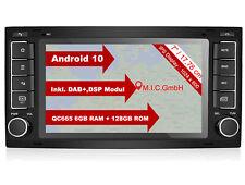 AVTO7: Android 10 Autoradio Naviceiver Moniceiver: DAB+ GPS Navi für VW Touareg