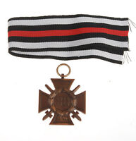 WWI GERMANY GERMAN MEDAL HINDENBURG HONOR WAR CROSS 1914 1918 WK -33853