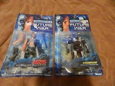 Lot of 2 TERMINATOR 2 Future War Action Figures 1992 Kenner NEW Free Ship!