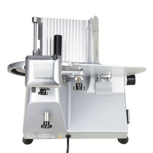 """Commercial Meat Slicer Stainless Steel 10"""" Blade Cheese Food Electric Cutter"""